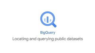 Locating and querying public datasets