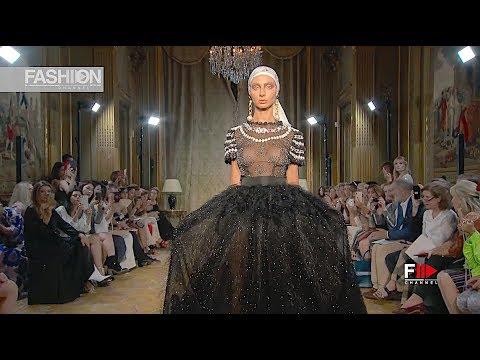 YOLANCRIS Haute Couture Fall 2019 Paris - Fashion Channel