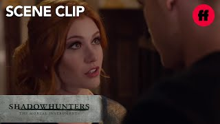 Shadowhunters | Season 1, Episode 12: Jace & Clary Talk About Valentine | Freeform