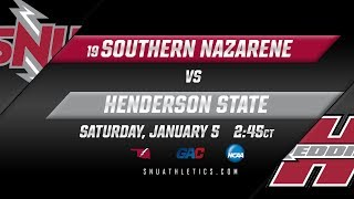 No. 19 SNU Men's Basketball vs. Henderson State