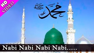 Nabi Nabi Nabi || Full Naat Video || With Lyrics   - YouTube
