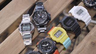Распаковываю 9 часов Casio G-Shock по цене от 8990 до 84 990 рублей