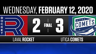Rocket vs. Comets | Feb. 12, 2020