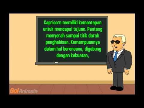 Video Membaca watak Capricorn