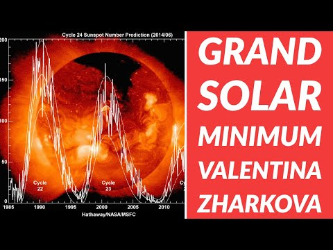 Valentina Zharkova The Grand Solar Minimum and Global Cooling