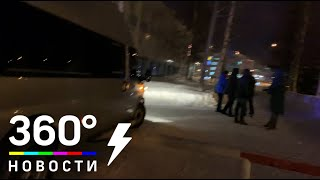 Силовики доставили щит в аэропорт Ханты-Мансийска