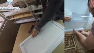 Уплотнитель двери холодильника Стинол RFC340A (морозильная камера) _015: 83х57 см от компании НОВЫЙ ПРОФИЛЬ - видео 1