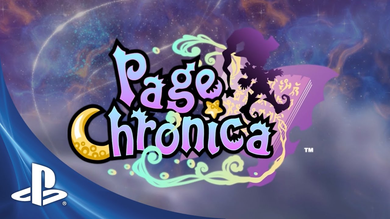 Flex Your Lexicon in Page Chronica, Out Tuesday on PSN