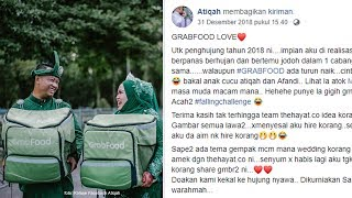 Viral Prewedding Pakai Konsep Kisah Cinta GrabFood
