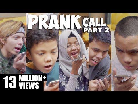 DIMARAHIN FANS!!! Prank Call Bareng 11 Anak Part 2