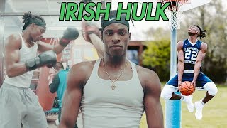 Who Is The IRISH HULK!? Aidan Harris Igiehon Came From Ireland To TAKE OVER Basketball In America 🏆