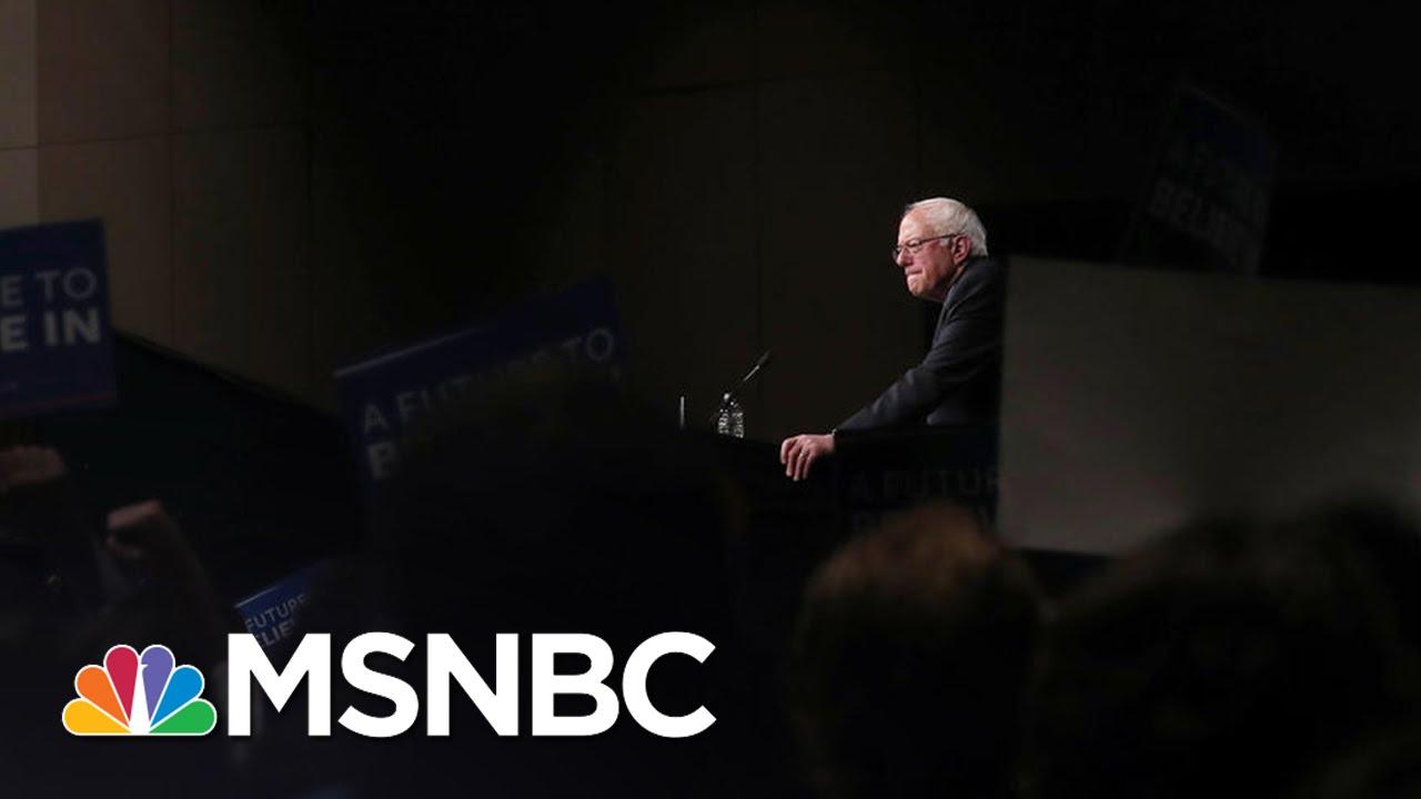 Bernie Sanders Campaign Considers Options Ahead | MSNBC thumbnail