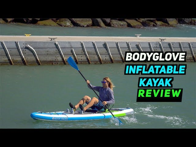 BodyGlove Inflatable Kayak Review! Glide 11 iKayak