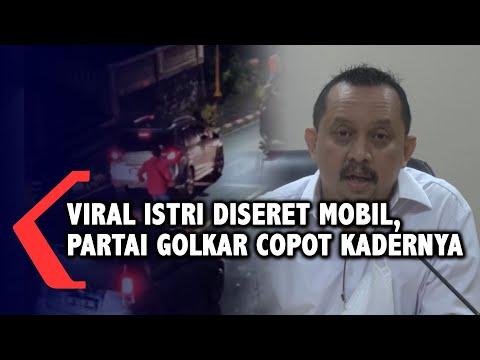 Viral Wakil DPRD Sulut Seret Istri dengan Mobil, Golkar Nonaktifkan JAK
