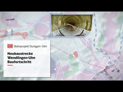 Animationsfilm Baustellenfortschritt Neubaustrecke Wendlingen–Ulm
