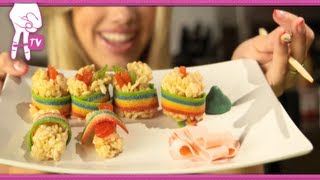 Грейси Дзинни, How to Make Candy Sushi - 2 DIY For Ep 31