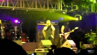 """ANGELES DEL INFIERNO EN VIVO EN XALAPA """"UNIDOS POR EL ROCK""""  GIRA 2012"""