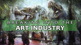 Art Industry Talk - Studying and Breaking into the Industry