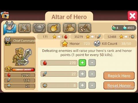 Little empire farming best armor