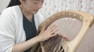 """安達摩澄先生 ライアー演奏 """"エリーゼのために"""""""