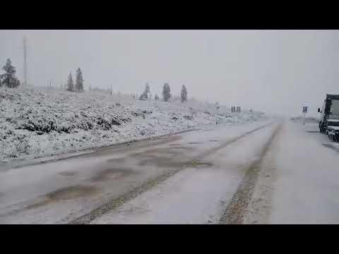 Июльский снег в Бурятии