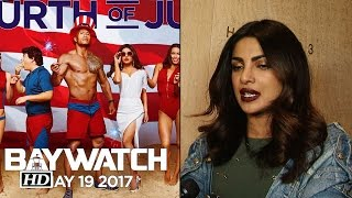 Priyanka Reacts On Her Blinkandmiss Appearance In Baywatch Trailer