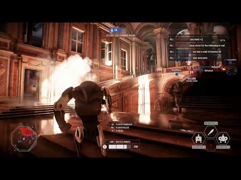 Star Wars Battlefront II Rocket Droid Gameplay 2