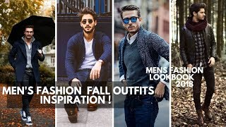 MENS OUTFIT FALL INSPIRATION | Mens Fashion Lookbook Fall 2018 | Autumn Outfits Ideas