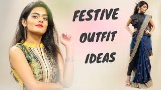 Indian Festive Outfit Ideas For Diwali & Wedding   Dhwani Bhatt