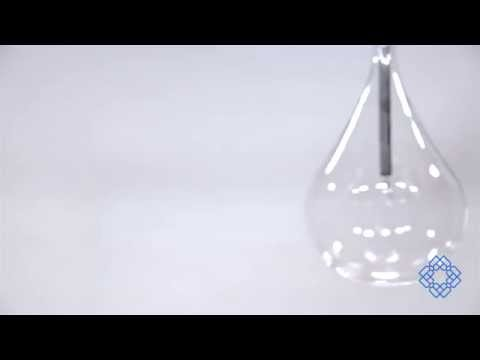 Video for Larmes Polished Chrome One-Light Mini Pendant with Clear Glass