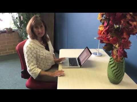 Ergo Diva says find your perfect desk height
