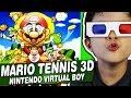 Mario Tennis 3d Nintendo Virtual Boy Gameplay Comentado