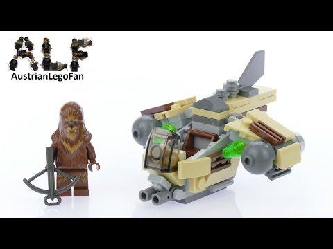 Vidéo LEGO Star Wars 75129 : Vaisseau de combat Wookiee