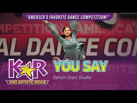 """You Say"" from Dancin' Stars Studio"
