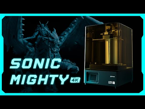 Phrozen Sonic Mighty 4K resin