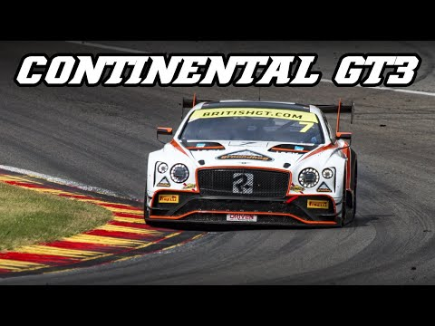 Bentley Continental GT3 - Monster V8 rumble (Spa 2019)