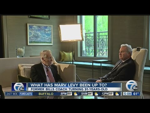 Exclusive interview with Marv Levy