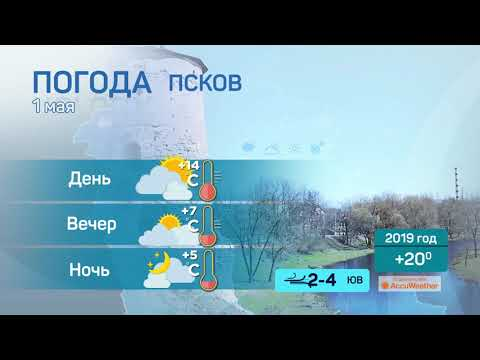 Прогноз погоды / 01.05.2020