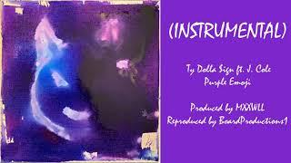 Ty Dolla $ign    Purple Emoji Ft. J. Cole (Official Instrumental)