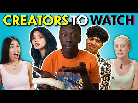 These 4 Creators Are Dominating The Internet!   React (Khaby Lame, Nessa Barrett & More)