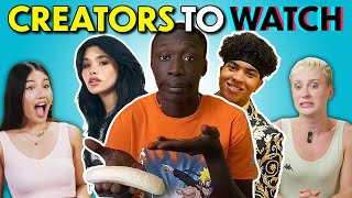These 4 Creators Are Dominating The Internet! | React (Khaby Lame, Nessa Barrett & More)