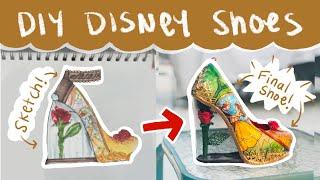 Making My Custom Disney Shoes -  A Tutorial!