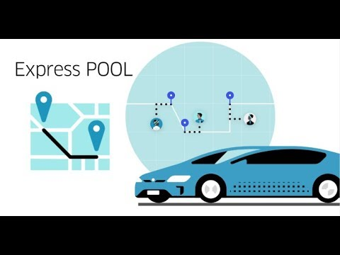 What is Uber Express POOL?