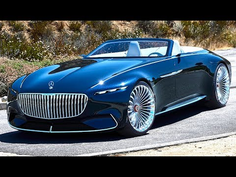 Mercedes Maybach 6 Cabriolet World Premiere 2018 Vision Electric Mercedes Maybach 6 Cabriolet CARJAM