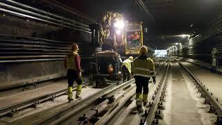 M3 metrófelújítás - Déli szakasz (2020.04.22.)