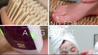 Head To Toe Pampering For a BIG Event | Rachel Talbott