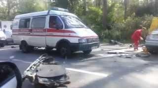 авария дтп 11. 06. 14 варшавка летальный исход видео