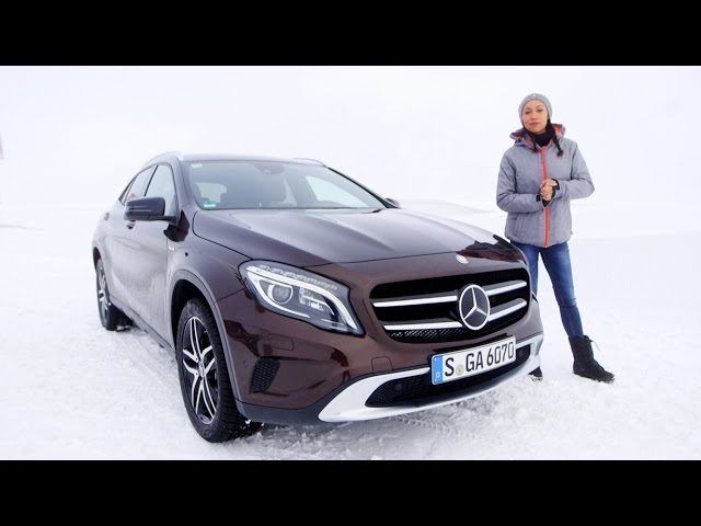 The all-wheel drive 4MATIC and the premiere of the CLA Shooting Brake - Mercedes-Benz original