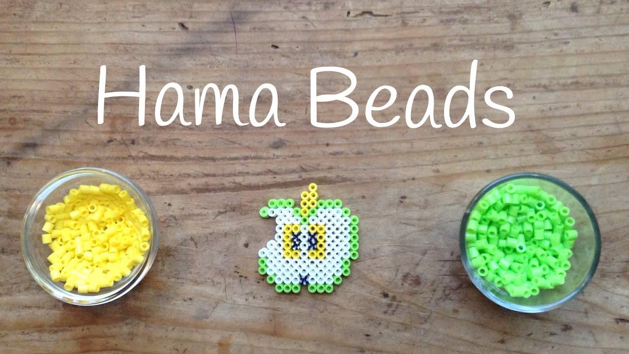 Disfruta de la fruta con hama beads, cómo hacer una manzana