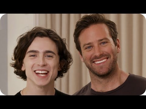 Hang with Timothée Chalamet and Armie Hammer Before the Oscars // Omaze